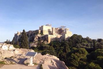Vers le soleil d'Athènes