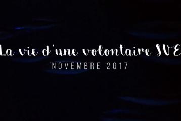 2 secondes par jour - La vie d'une volontaire SVE en novembre