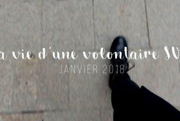 2 SECONDES PAR JOUR - LA VIE D'UNE VOLONTAIRE SVE - Janvier