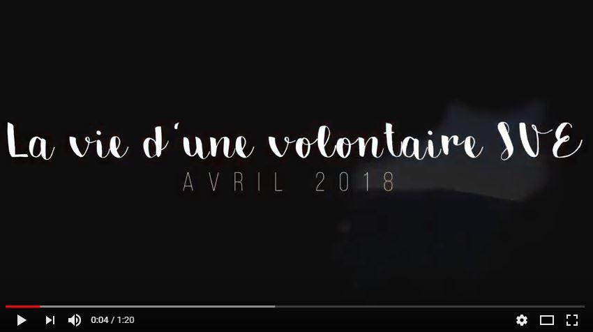 2 secondes par jour - La vie d'une volontaire SVE - Avril