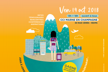 "Forum ""Time to move"" Reims / Bougez à l'international ! - 19 octobre 2018"