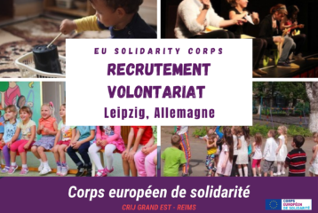 Corps européen de solidarité - Recrutement volontariat en Allemagne