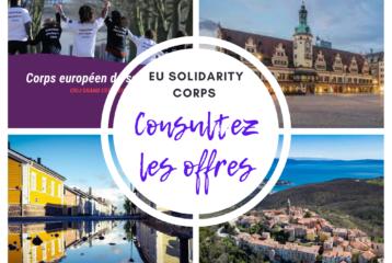 Corps européen de solidarité - Consultez les offres !